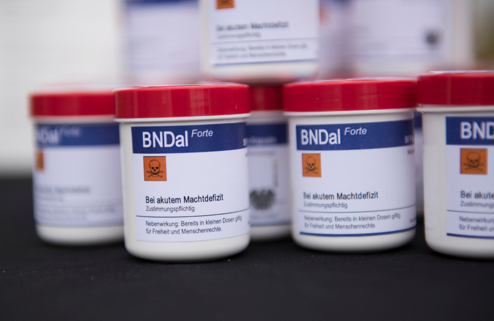 BNDal: Das Placebo bei akutem Machtdefizit…