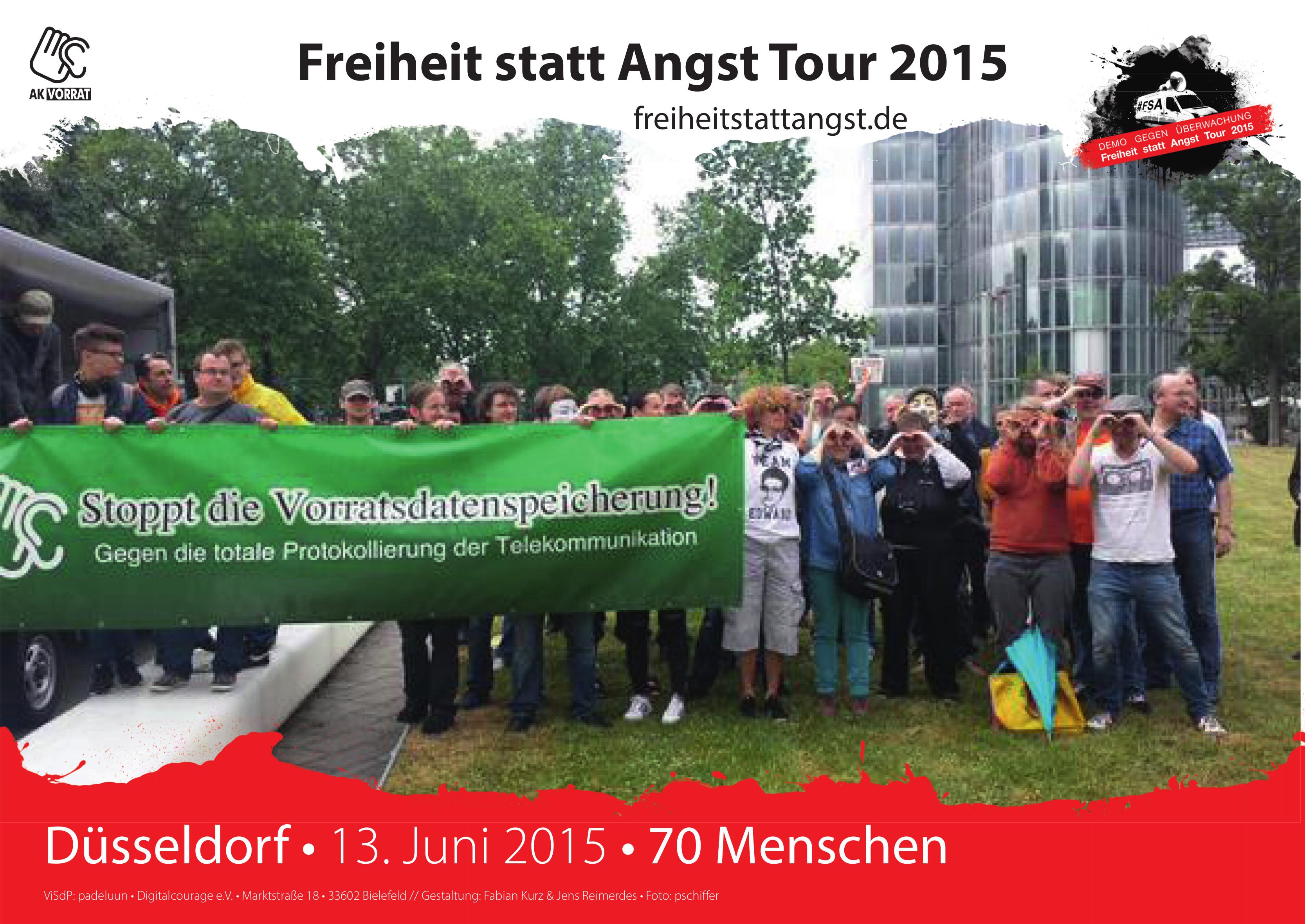 Der 13. Juni 2015 in Düsseldorf