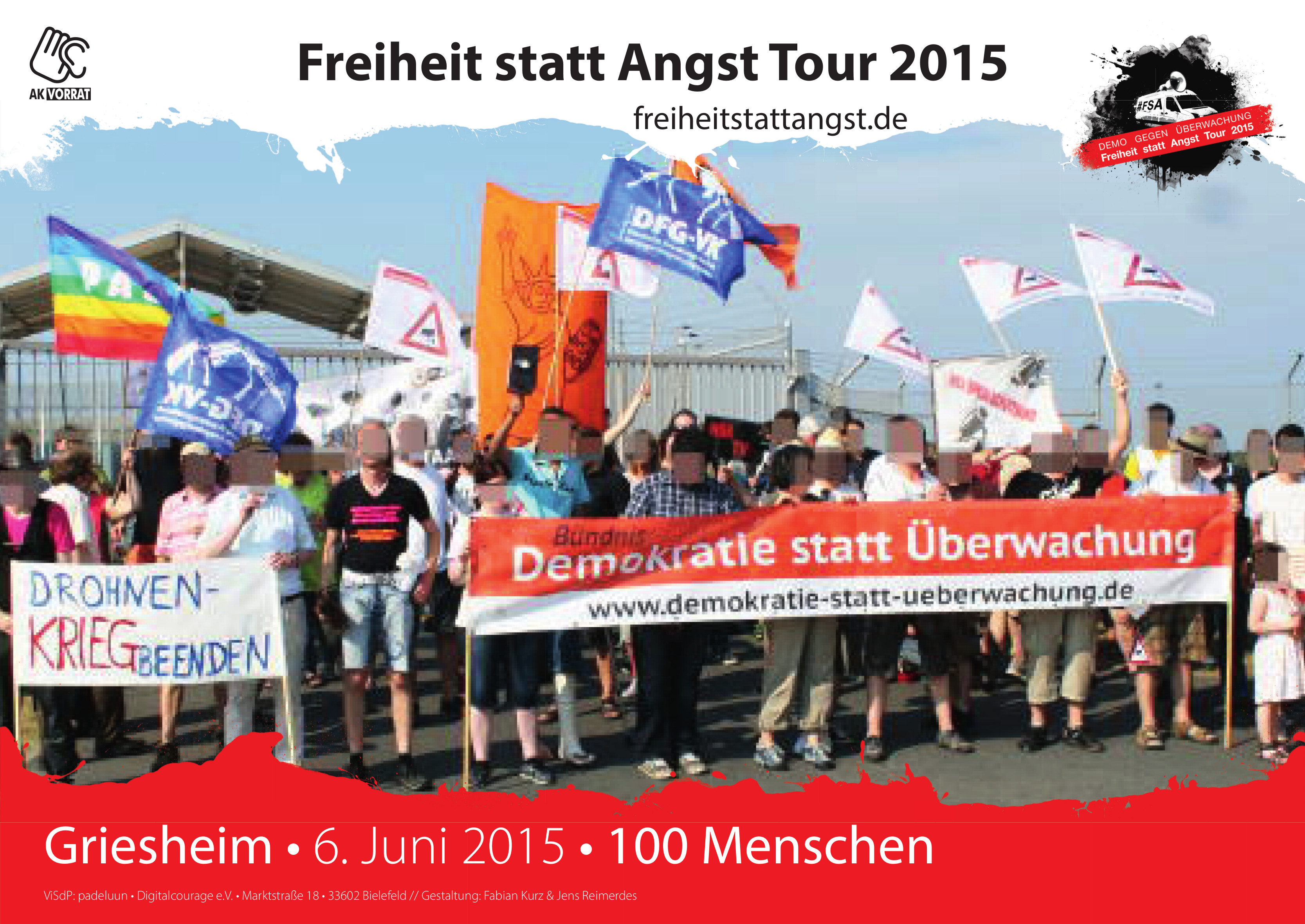 Griesheim am 6. Juni 2015