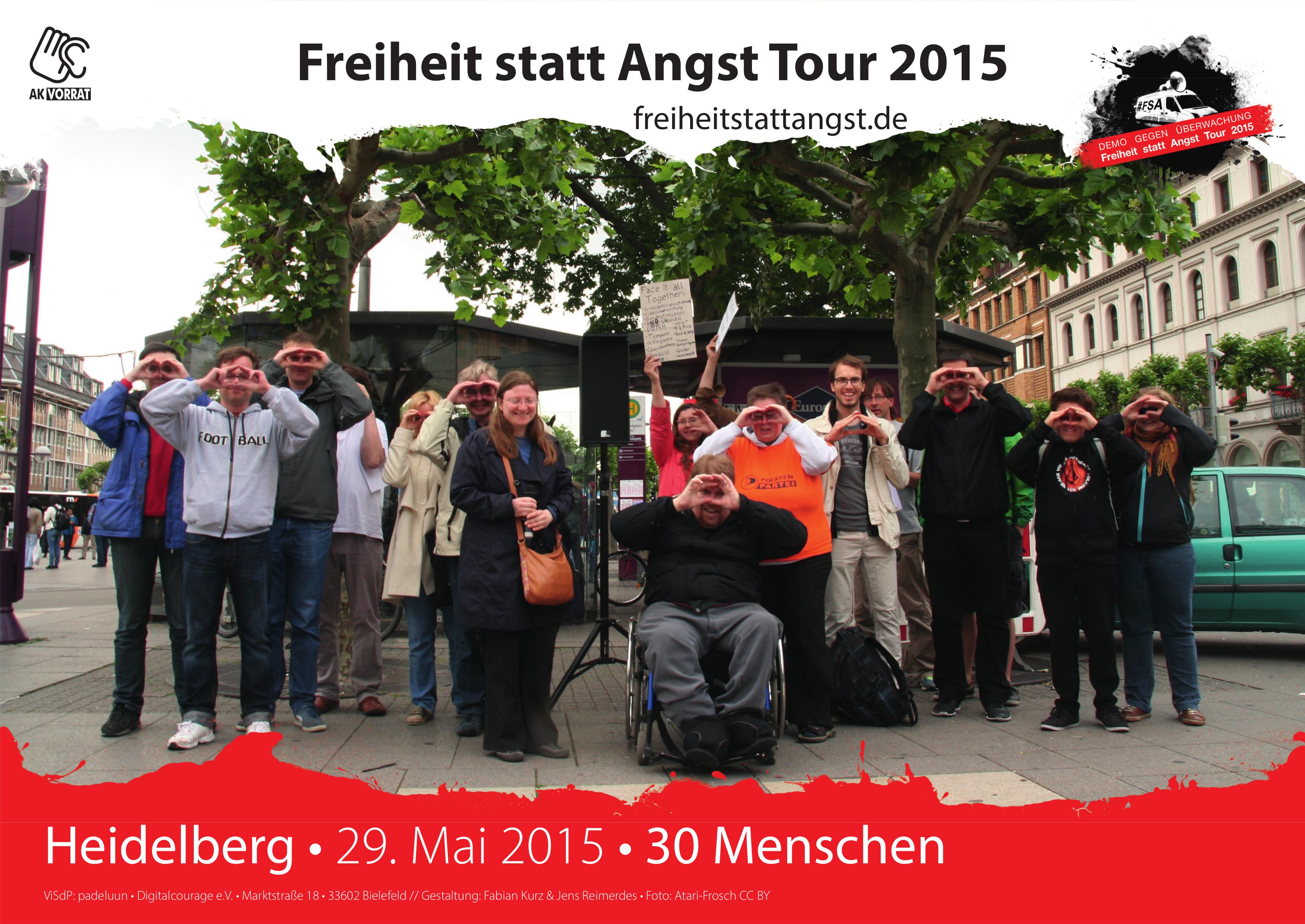 Heidelberg am 29. Mai 2015.