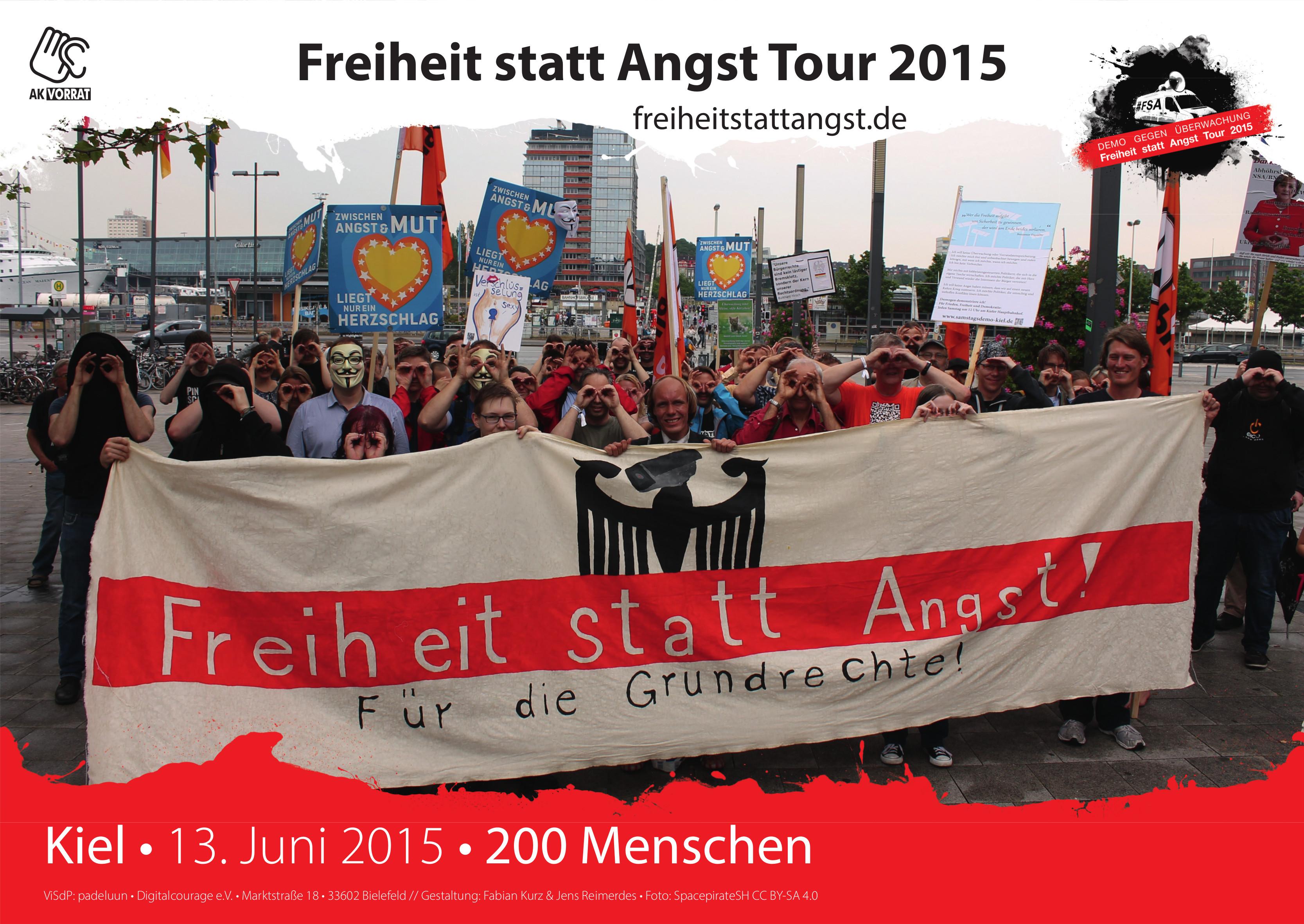 Der 13. Juni in Kiel.