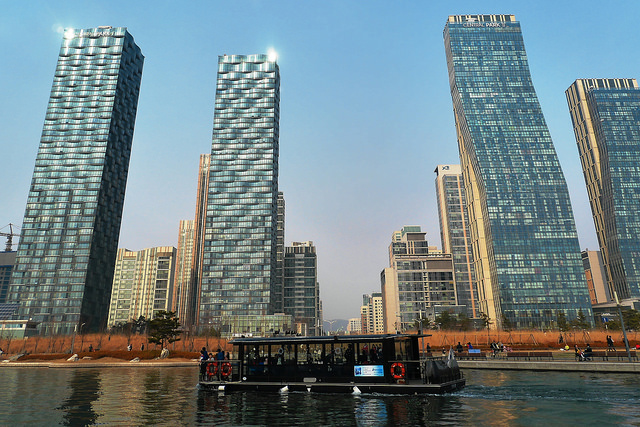 Central Park in Songdo
