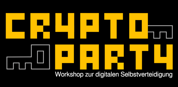 CryptoParty-Logo, Public Domain