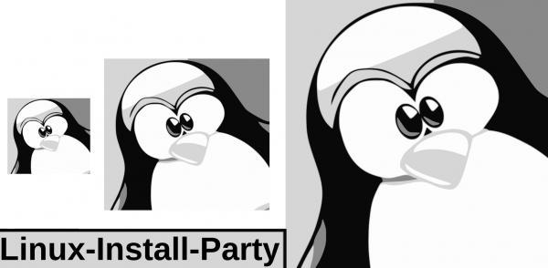 GNU/Linux-Install-Party, CC BY SA 2.0